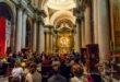 Metti una sera in chiesa.  Tra marmi maestosi e grandi angeli, trovare la luce nell'Apocalisse