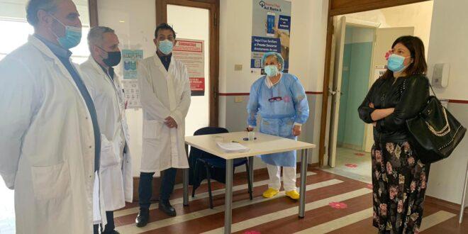 Casa della Salute: al via le vaccinazioni  anti Covid-19 con già 100 somministrazioni  al giorno