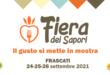 """Dal 24 al 26 Frascati ospita la """"Fiera dei Sapori"""""""